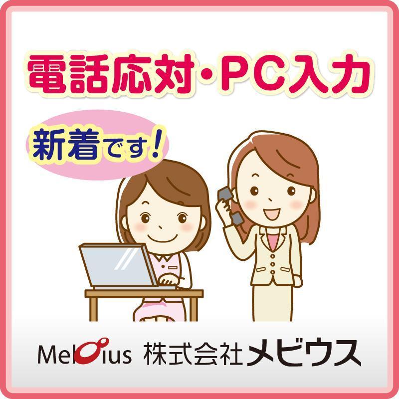 電話応対・PC入力/株式会社メビウス